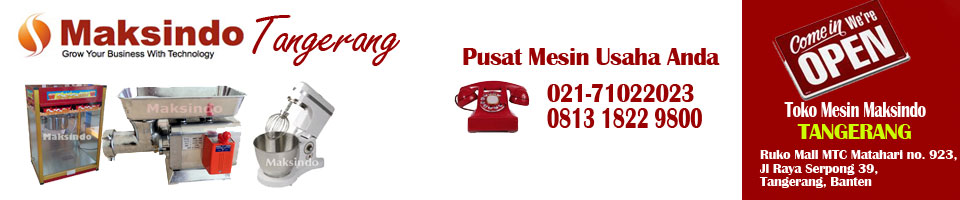 Toko Mesin Maksindo BSD Tangerang